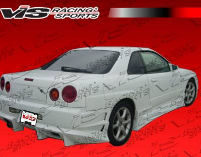 Skyline - Rear Bumper - VIS Racing - Nissan Skyline VIS Racing Ballistix Rear Bumper - 99NSR34GTRBX-002
