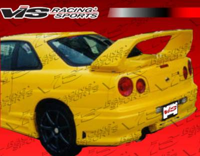Skyline - Rear Bumper - VIS Racing. - Nissan Skyline VIS Racing Tracer Rear Bumper - 99NSR34GTRTRA-002