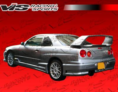 Skyline - Rear Bumper - VIS Racing - Nissan Skyline VIS Racing Tracer GT Rear Bumper - 99NSR34GTSTGT-002