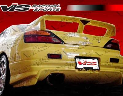 Silvia - Rear Bumper - VIS Racing - Nissan Silvia VIS Racing Cyber-2 Rear Lip - 99NSS152DCY2-012