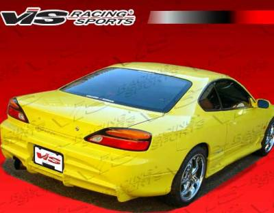 Silvia - Rear Bumper - VIS Racing - Nissan Silvia VIS Racing Invader Rear Bumper - 99NSS152DINV-002