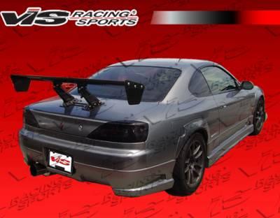 Silvia - Rear Bumper - VIS Racing - Nissan Silvia VIS Racing Tracer Rear Bumper - 99NSS152DTRA-002