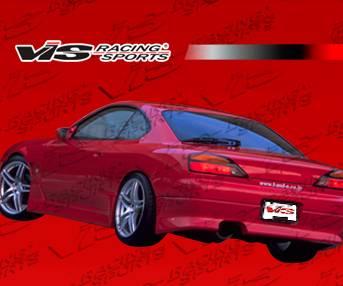 Silvia - Rear Bumper - VIS Racing - Nissan Silvia VIS Racing V Speed Rear Bumper - 99NSS152DVSP-002