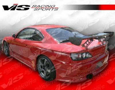 Silvia - Rear Bumper - VIS Racing. - Nissan Silvia VIS Racing V Speed Widebody Rear Bumper - 99NSS152DVSPWB-002