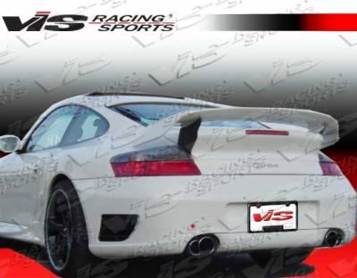 911 - Rear Bumper - VIS Racing - Porsche 911 VIS Racing A Tech Rear Bumper - 99PS9962DATH-002