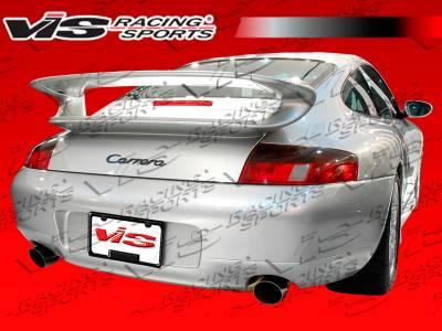 911 - Rear Bumper - VIS Racing - Porsche 911 VIS Racing D3 Rear Bumper - 99PS9962DD3-002