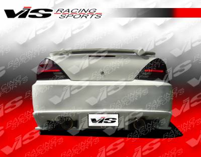 Grand Am - Rear Bumper - VIS Racing - Pontiac Grand Am VIS Racing Ballistix Rear Bumper - 99PTGAM4DBX-002