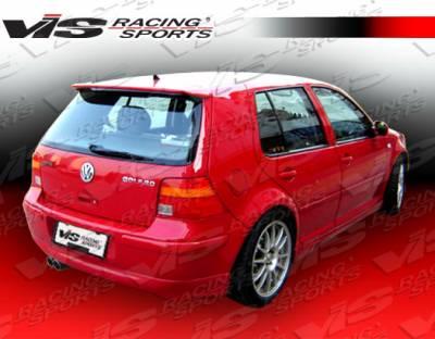 Golf - Rear Bumper - VIS Racing - Volkswagen Golf VIS Racing A Tech Rear Lip - 99VWGOF2DATH-012