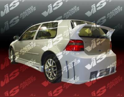 Golf - Rear Bumper - VIS Racing - Volkswagen Golf VIS Racing Titan Rear Bumper - 99VWGOF2DTT-002
