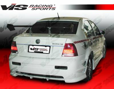Jetta - Rear Bumper - VIS Racing - Volkswagen Jetta VIS Racing Demon Rear Bumper - 99VWJET4DDEM-002