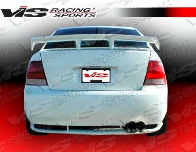 Jetta - Rear Bumper - VIS Racing - Volkswagen Jetta VIS Racing Xtreme Rear Bumper - 99VWJET4DEX-002
