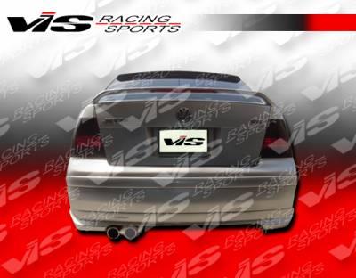 Jetta - Rear Bumper - VIS Racing - Volkswagen Jetta VIS Racing Otto Rear Bumper - 99VWJET4DOTT-002