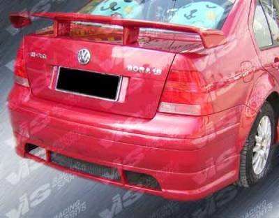 Jetta - Rear Bumper - VIS Racing - Volkswagen Jetta VIS Racing Rabiat Rear Lip - 99VWJET4DRAB-012