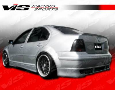 Jetta - Rear Bumper - VIS Racing - Volkswagen Jetta VIS Racing R Tech Rear Lip - 99VWJET4DRTH-012