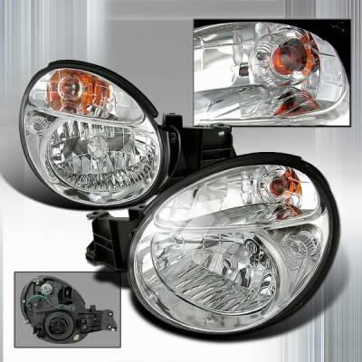 Headlights & Tail Lights - Headlights - Custom Disco - Subaru WRX Custom Disco Crystal Headlights - LH-WRX02-KS