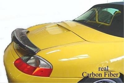 Spoilers - Custom Wing - Custom - Carbon Fiber rear Wing Spoiler with Light