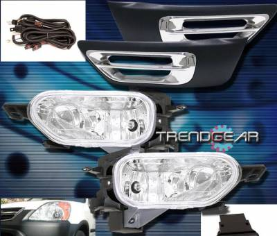 Headlights & Tail Lights - Fog Lights - Custom - Clear Fog Light