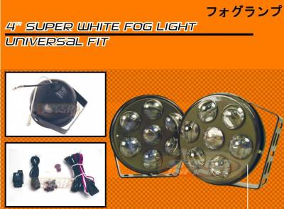 Headlights & Tail Lights - Fog Lights - Custom - SUPER WHITE LED FOG LIGHT