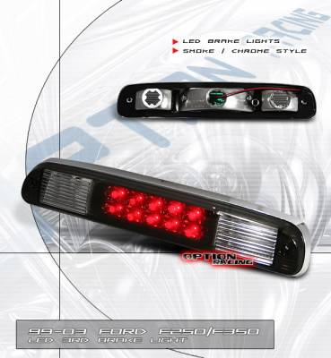 Headlights & Tail Lights - LED Tail Lights - Custom - Chrome Smoke LED Third Brake Light