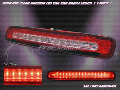 Headlights & Tail Lights - Led Tail Lights - Custom - Red LED Third Brake Light
