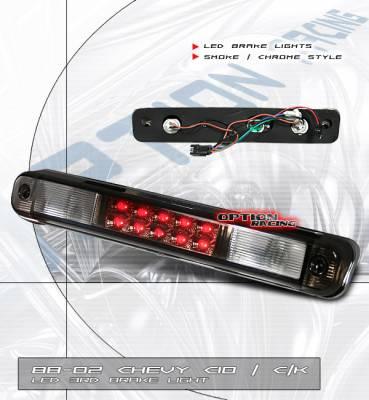 Headlights & Tail Lights - Led Tail Lights - Custom - Smoke Third LED Brake Light