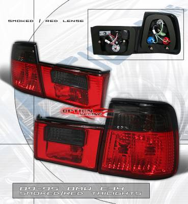 Headlights & Tail Lights - Tail Lights - Custom - Smoked RED Tail Light