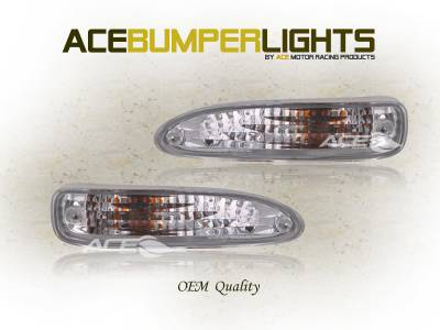 Headlights & Tail Lights - Corner Lights - Custom - Crystal Bumper Lights
