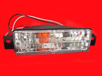 Headlights & Tail Lights - Corner Lights - Custom - E30 Clear Bumper Lights