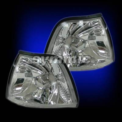 Headlights & Tail Lights - Corner Lights - Custom - EURO CLEAR CORNER SIGNAL LIGHTS