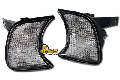 Headlights & Tail Lights - Corner Lights - Custom - E34 Clear Corner Lights