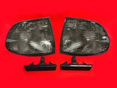 Headlights & Tail Lights - Corner Lights - Custom - E38 Smoked Corner Lights