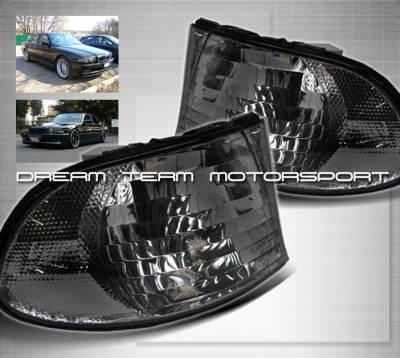 Headlights & Tail Lights - Corner Lights - Custom - Euro Smoke Pro Corner Lights