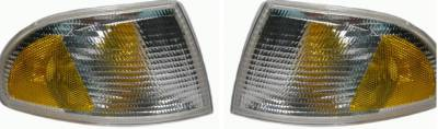 Headlights & Tail Lights - Corner Lights - Custom - Turn Signal Corner Lights
