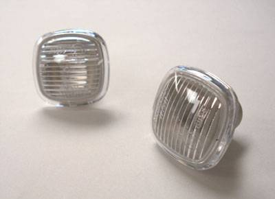 Headlights & Tail Lights - Corner Lights - Custom - Clear Side Marker Lights