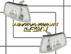 Headlights & Tail Lights - Corner Lights - Custom - Chrome Euro Corner Lights