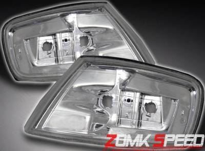 Headlights & Tail Lights - Corner Lights - Custom - Crystal Euro Corner Lights