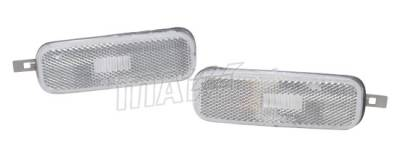 Headlights & Tail Lights - Corner Lights - Custom - Clear Front Bumper Lights