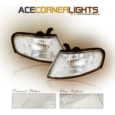 Headlights & Tail Lights - Corner Lights - Custom - J-Clear Corner Lights