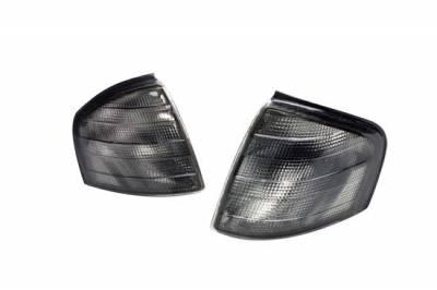 Headlights & Tail Lights - Corner Lights - Custom - Smoked Corner Lights