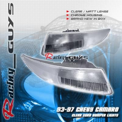 Headlights & Tail Lights - Corner Lights - Custom - Euro Clear Bumper Lights