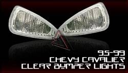 Headlights & Tail Lights - Corner Lights - Custom - Clear Bumper Lights