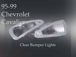 Headlights & Tail Lights - Corner Lights - Custom - Crystal Clear Bumper Lights