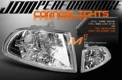 Headlights & Tail Lights - Corner Lights - Custom - JDM Crystal Clear Corner Lights