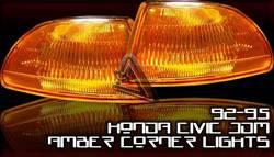 Headlights & Tail Lights - Corner Lights - Custom - JDM Amber Corner Lights