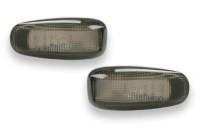 Headlights & Tail Lights - Corner Lights - Custom - Smoke Side Marker Lights