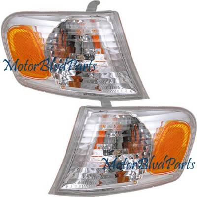 Headlights & Tail Lights - Corner Lights - Custom - Clear Corner Lights
