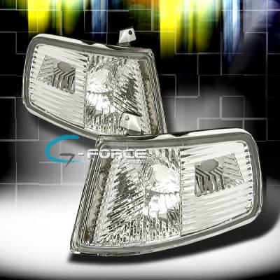 Headlights & Tail Lights - Corner Lights - Custom - Crystal Clear Corner Lights