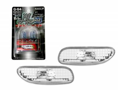 Headlights & Tail Lights - Corner Lights - Custom - Diamond Front  Bumper Lights