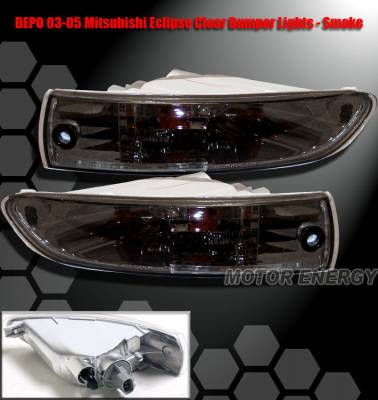Headlights & Tail Lights - Corner Lights - Custom - JDM Smoke Bumper Lights