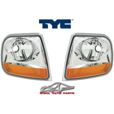 Headlights & Tail Lights - Corner Lights - Custom - Euro Chrome Clear Corner Lights